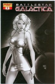 Battlestar Galactica #1 Michael Turner Retail Incentive Sketch Variant Dynamite comic book